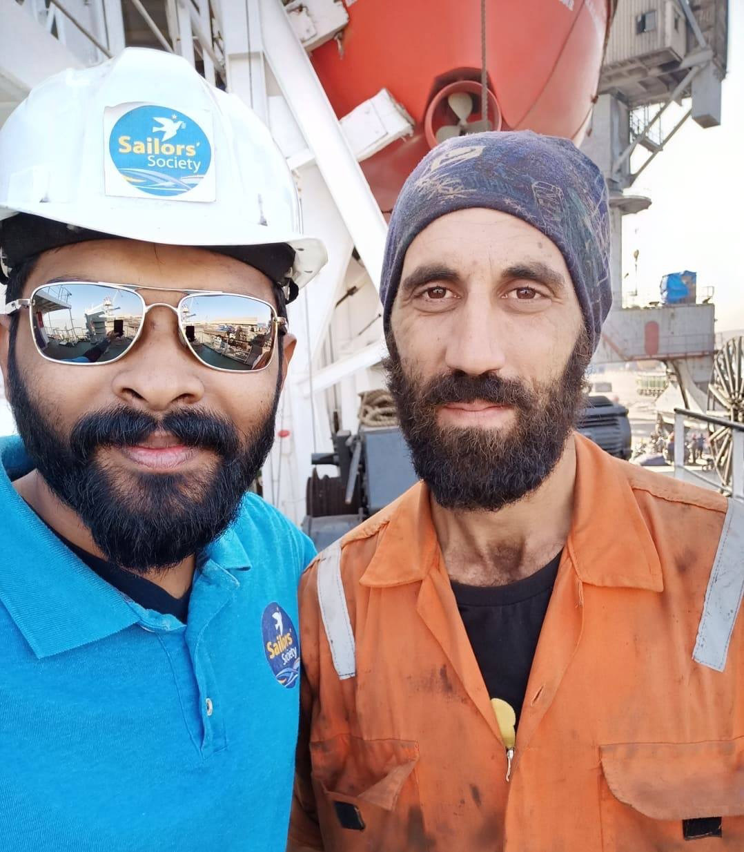 Seafarer returns home for the first time in nine years