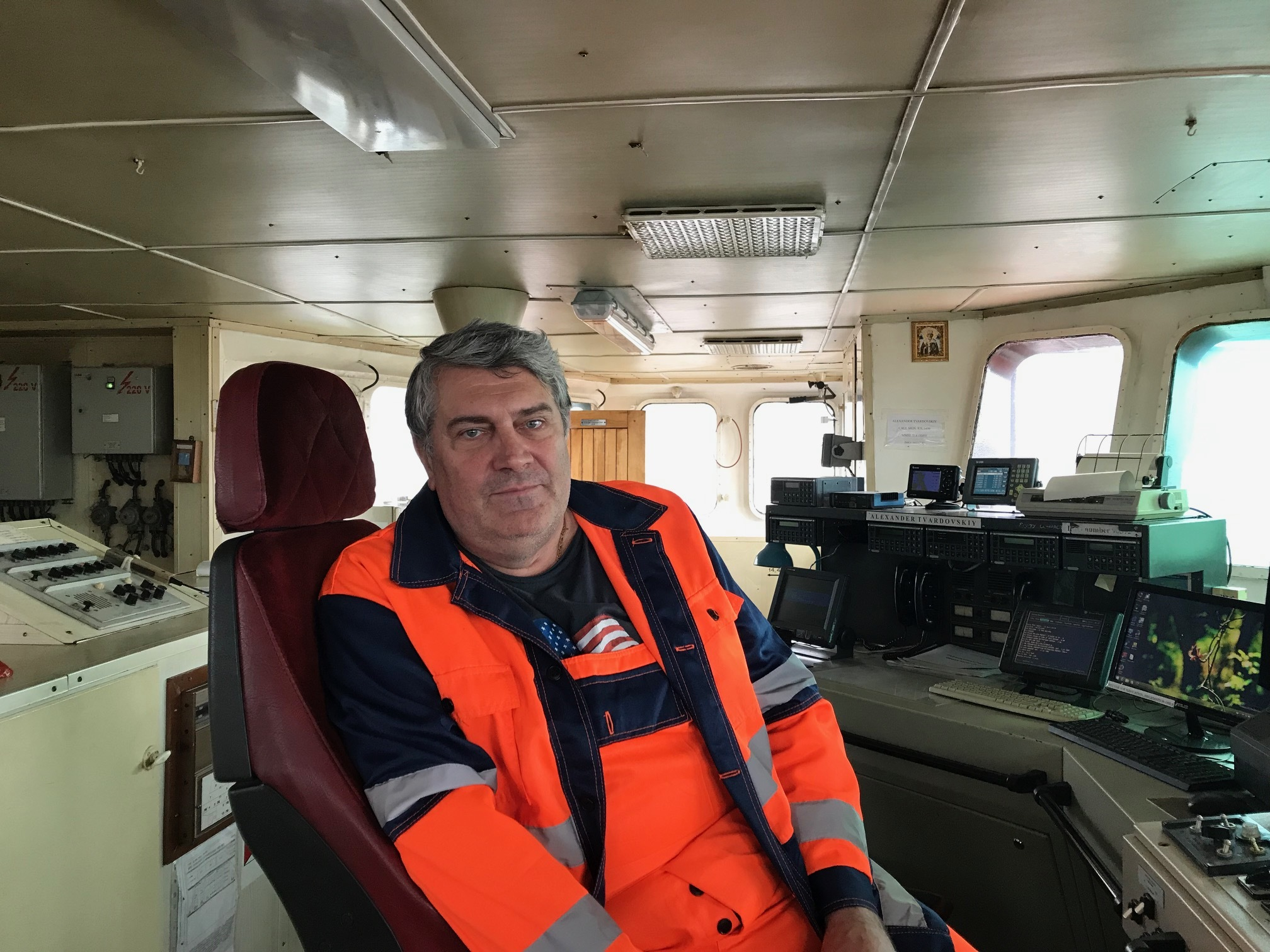Leith chaplain supports stranded crew