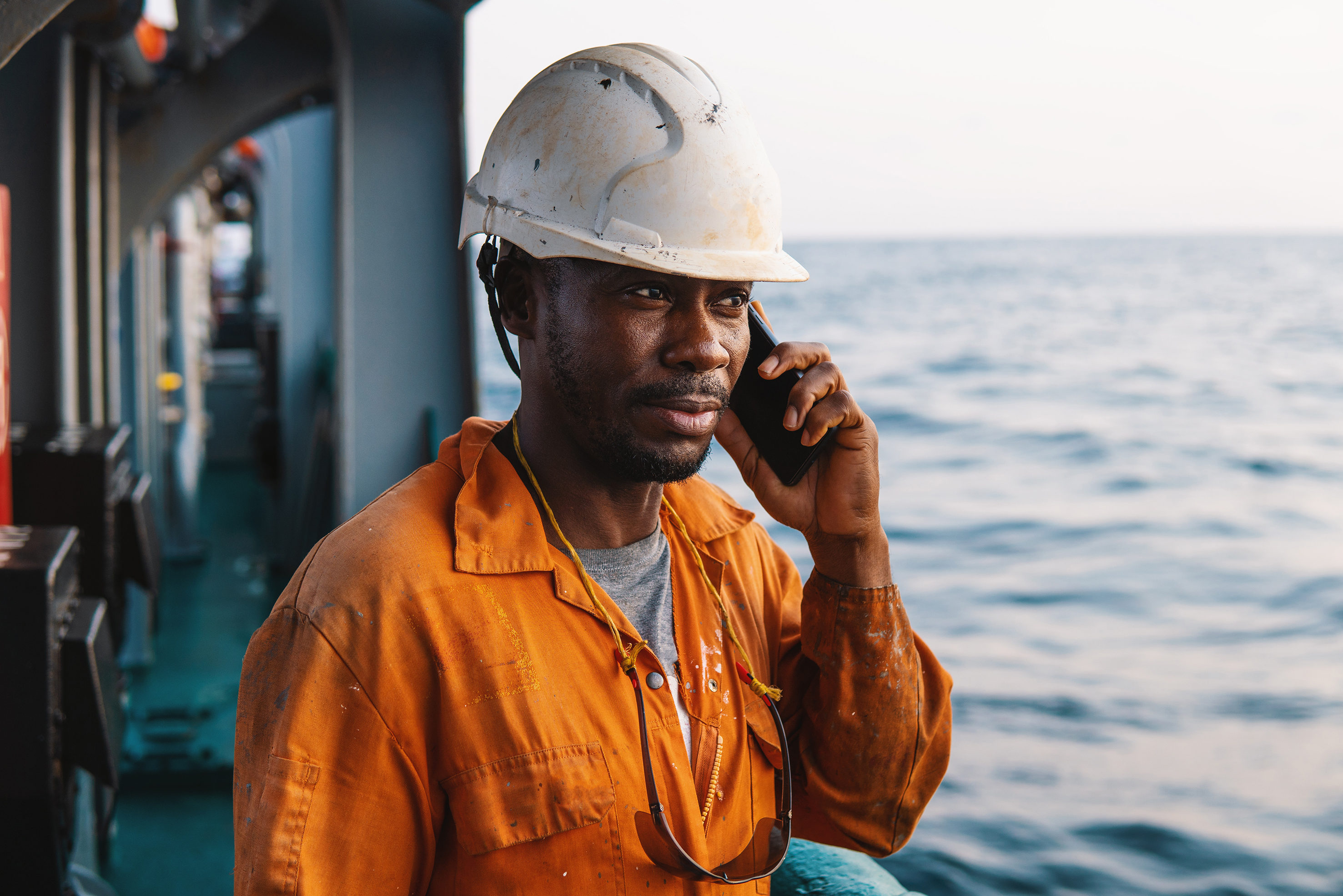 Sailors' Society's unique helpline service provides mental health support to more than 12,000 seafarers
